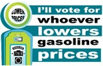Hillary Will Lower Gas Prices T-shirts Gifts