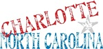 Charlotte North Carolina Retro T-shirts Gifts