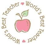 World's Best Teacher T-shirts Gifts