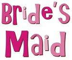 Bride's Maid Wedding Party T-shirts Gifts