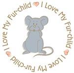 I Love my Rat Fur-Child T-shirts Gifts