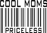 Cool Moms Priceless Bar Code T-shirts Gifts