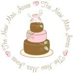 New Mrs. Jones Custom Cake T-shirts Gifts