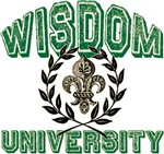 Wisdom Family Name University T-shirts Gifts