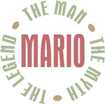 Mario the Man the Myth the Legend T-shirts Gifts