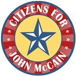 Citizens for John McCain T-shirts Gifts