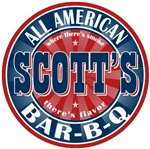 Scott's All American Bar-B-Q T-shirts Gifts