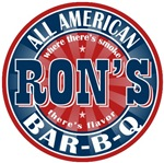 Ron's All American Bar-b-q T-shirts Gifts