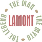 Lamont the man the myth the legend T-shirts Gifts