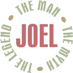 Joel the man the myth the legend T-shirts Gifts