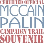 McCain Palin Campaign Souvenir T-shirts Gifts