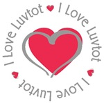 I Love Heart Luvtot Nickname T-shirts Gifts