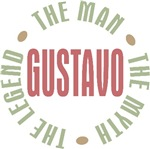 Gustavo Man Myth Legend T-shirts Gifts