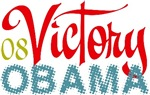 Victory Barack Obama President 2008 Tees Gifts