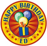 Happy Birthday Ed Personalized Tees Gifts