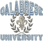 Calabrese Last Name University Tees Gifts