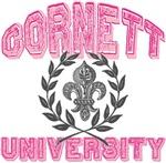 Cornett Last Name University Tees Gifts