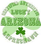 Authentic Lucky Arizona Leprechaun Tees Gifts