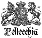 Pellecchia Vintage Family Name Crest Tees Gifts