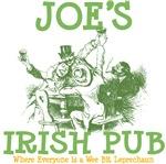 Joe's Irish Pub Personalized Tees Gifts