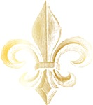 Gold Fleur De Lis Tees and Gifts