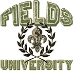 Fields Last Name University Tees Gifts