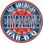Bingman's Barbeque Personalized Tees Gifts