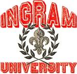 Ingram Family Name University Tees Gifts