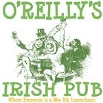 O'Reilly's Irish Pub Custom Tees Gifts