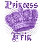 Princess Erin Purple Crown Tees Gifts