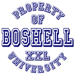 Property of Boshell University Tees Gifts