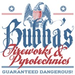 Bubba's Fireworks and Pyrotechnics Tees Gifts