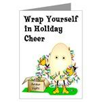 Egghead Happy Holiday Cards