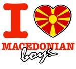 I love Macedonian boys