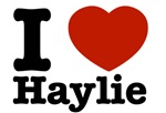 I love Haylie