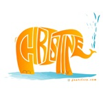 Christine (Orange Elephant 1)