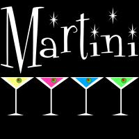 Martini 4 Glass Logo