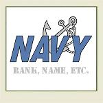 Personalize Navy
