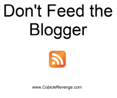 Don't Feed the Blogger