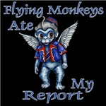 The impish Flying Monkeys under control of the Wicked Witch of the West are the reason why your report is not ready.   Flying Monkeys ate my Report.