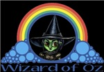 With all the colors of the rainbow, this Wonderful Wizard of Oz inspired design capturesWicked Witch of the West Wizard of Oz.  The perfect gift for any Oz fan.