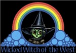 With all the colors of the rainbow, this Wonderful Wizard of Oz inspired design capturesRainbow - Wicked Witch of the West.  The perfect gift for any Oz fan.