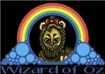 With all the colors of the rainbow, this Wonderful Wizard of Oz inspired design captures the Cowardly Lion Wizard of Oz.  The perfect gift for any Oz fan.