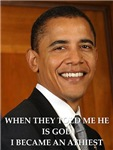 a funny obama joke on gifts and t-shirts
