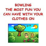 a funny bowking joke on gifts and t-shirts.