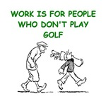 a funny golf joke on gifts and t-shirts