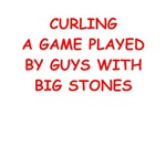 a funny curling joke on gifts and t-shirts.