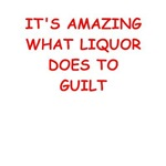 a funny liquor joke on gifts and t-shirts.