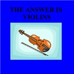 violin music gifts and t-shirts