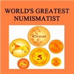 world's greatest numismatist gifts t-shirts